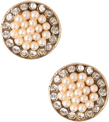 Jewelizer Style Diva Crystal Alloy Stud Earring