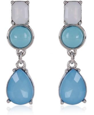 Trendy Baubles YAER2597 Metal, Acrylic Drop Earring