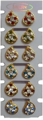 A To Z Sales AZ3100G Metal Earring Set