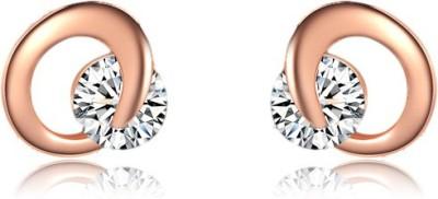Johri Store Cute C Shape Alloy Stud Earring