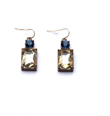 femnmas Crystal Lock Celebrity Style Zinc Dangle Earring
