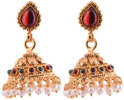 Ganapathy Gems Gold plated Copper Jhumki Earring