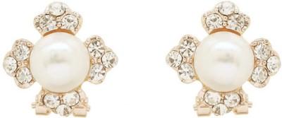 Saashis Closet Gorgeous Beauty Alloy Stud Earring