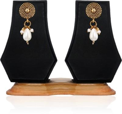 Zaveri Pearls Modern Aesthetics Zinc Drop Earring