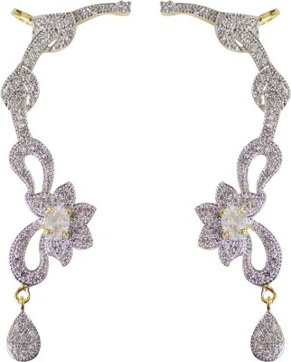 Jewelgrab Sai-Ad-Kanphool Alloy Cuff Earring