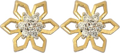 Enzy Star Tops Cubic Zirconia Alloy Stud Earring