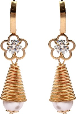 Divitha Allure Exquisite design hanging temple shape design pairfrom Divitha Allure. Alloy Drop Earring