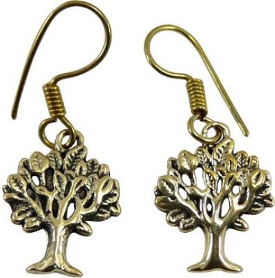 Cultural Fusion Tree Alloy Drop Earring