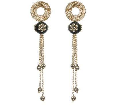 Envy Chain Brass Chandelier Earring
