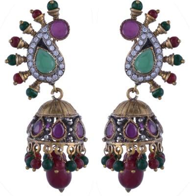 Nimbark Traders Alloy Brass, Metal Jhumki Earring