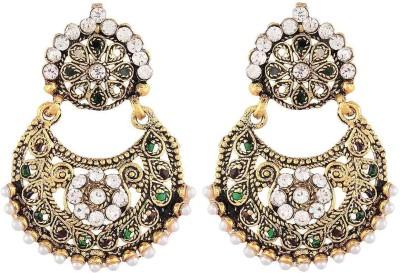Prita Ethnic Alloy Drop Earring