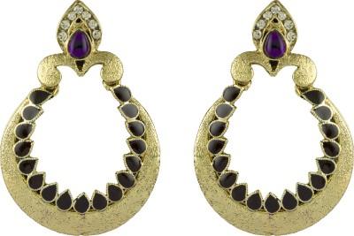 R18Jewels-Fashion&U Gorgeous Xquisite Crystal Metal, Enamel Dangle Earring