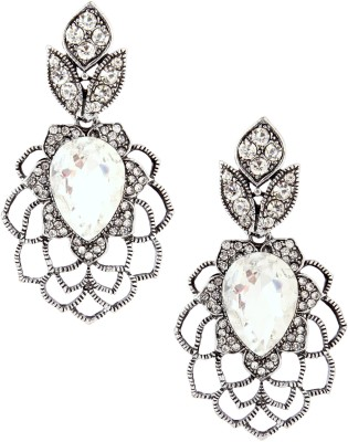 20Dresses Cut Out The Flower Metal Drop Earring