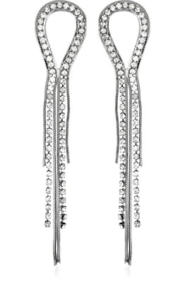 Moedbuille Beutifully Gorgeous Cubic Zirconia Alloy Drop Earring