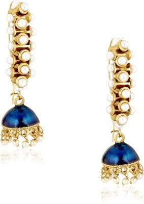 Spargz Ethinic Brass Jhumki Earring