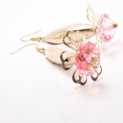 Greer Gloriana Funky Acrylic Dangle Earring