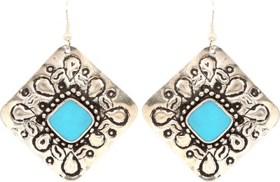 Jewel Funk Antique Stylish Silver Toned Alloy Dangle Earring