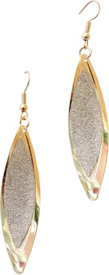 Cultural Fusion Golden Sparkles Alloy Dangle Earring