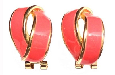 Shreya Collection Spring Sparkle-Pink Alloy Stud Earring