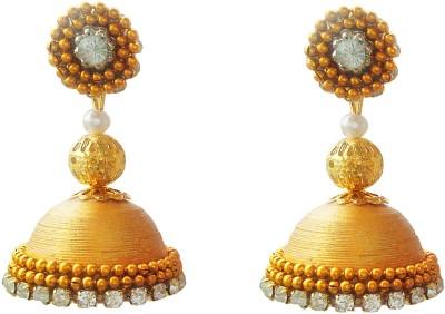 Jyotis Creations Gold Paper Jhumki Earring