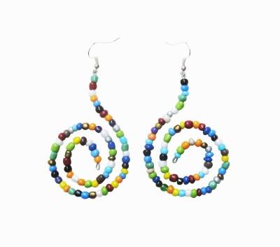 Juhi Malhotra Color spirals Ceramic Dangle Earring