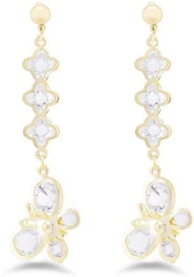 Jazz Jewellery Beautiful & Exquisite American Diamond Partywear Earrings Alloy Tassel Earring