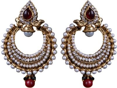 Pavitraa PTJ-34297 Metal Hoop Earring