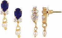 Archi Collection Style Diva Cubic Zirconia Alloy Earring Set best price on Flipkart @ Rs. 295