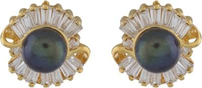 Classique DesignerJewellery Style Pearl Alloy Stud Earring
