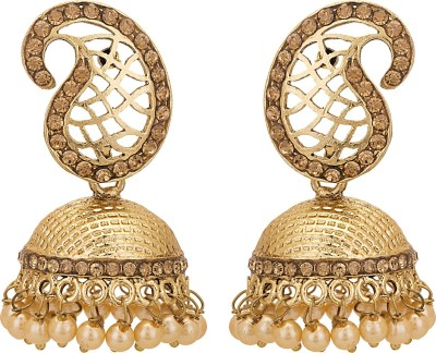 Adwitiya Collection Princess Delight Copper Jhumki Earring