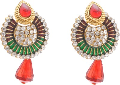 Neelam chand Alloy Chandbali Earring