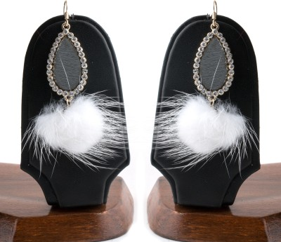 Jaipur Couture Chick Style Metal Dangle Earring