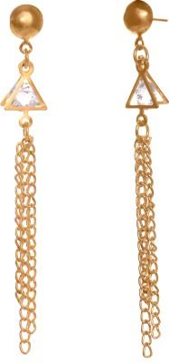 GemRoute Diva Crystal Crystal Alloy Tassel Earring