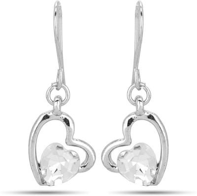 Jewelizer Just Like Diamonds Crystal Alloy Dangle Earring