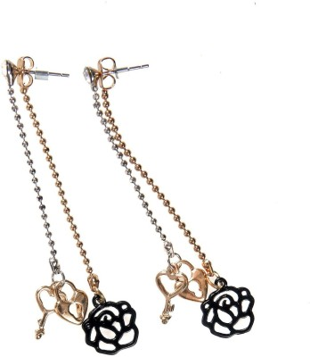 Jewel Touch Sparkle Diva Alloy Drop Earring