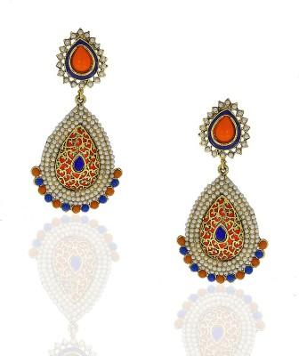 Anuradha Art Trendy & Classy Metal Chandelier Earring