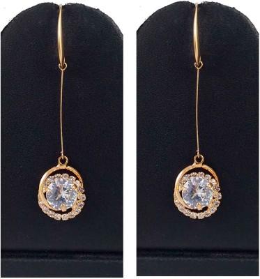 Hotpiper Beautiful Diamond, Crystal Alloy Dangle Earring
