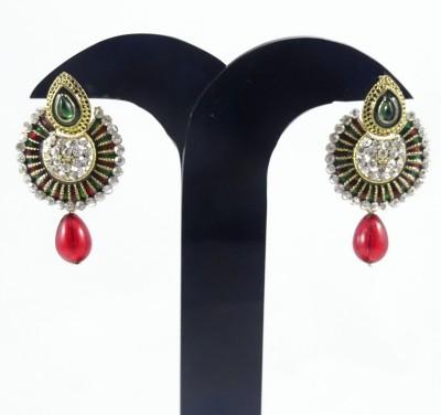 Navisha Trending Fashion Alloy Chandbali Earring