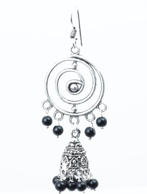 Waama Jewels beauty black Metal Dangle Earring