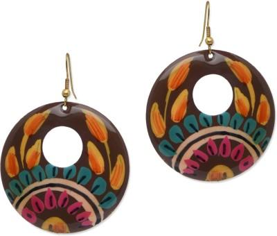 Jewel Paradise PMJPE-0093 Brass Dangle Earring
