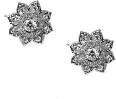 Kenza Ethnic AD Jewellery Alloy Stud Earring