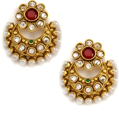 Alankruthi Copper Dangle Earring