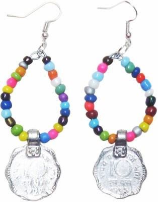 Juhi Malhotra Coin Love Ceramic Drop Earring