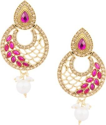 SIDDH Royal Rajasthani Alloy Drop Earring