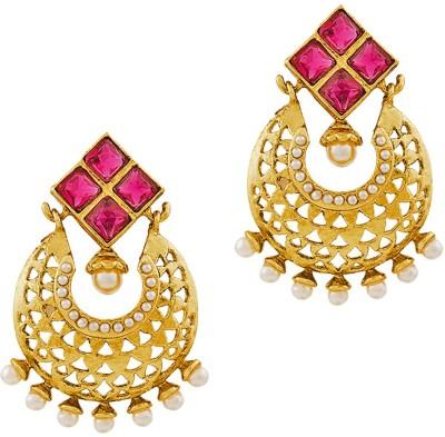 REEVA FASHION JEWELLERY CHANDELIER Zinc Chandbali Earring