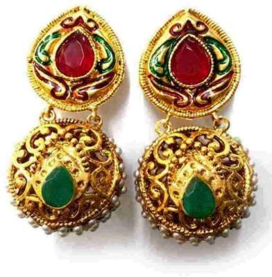 Aarnaa La Trendz Designer Ball Alloy Drop Earring