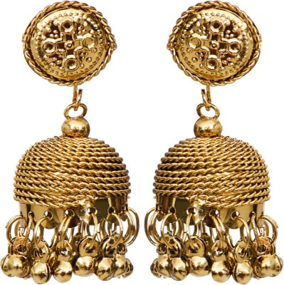 Mitthi Jewels Traditional Alloy Jhumki Earring