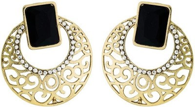 Deco Junction Ethnic Stud Earring Alloy Chandbali Earring