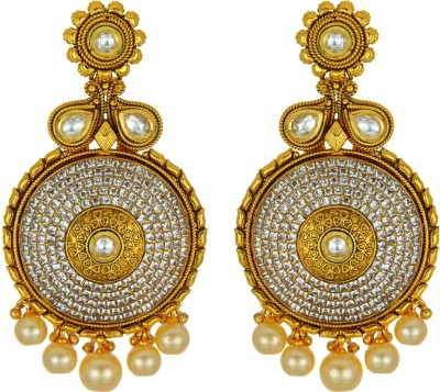 Kushals Fashion Jewellery Antique Copper, Alloy Stud Earring