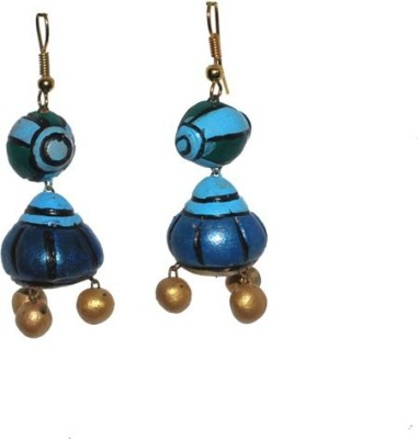 Aanya Creations Terracotta Handmade Ceramic Drop Earring